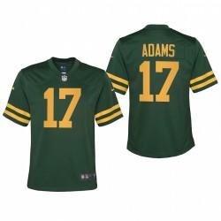 Jeunesse Green Bay Packers Davante Adams Retour Alternate Jeu Maillot - Vert