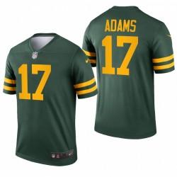 Green Bay Packers 17 Davante Adams Vert Légende Légende Maillot