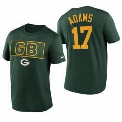 Green Bay Packers Davante Adams T-shirt T-shirt de logo d'équipe - Vert