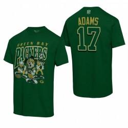 Green Bay Packers Davante Adams Disney Mickey Hudge T-shirt - Vert
