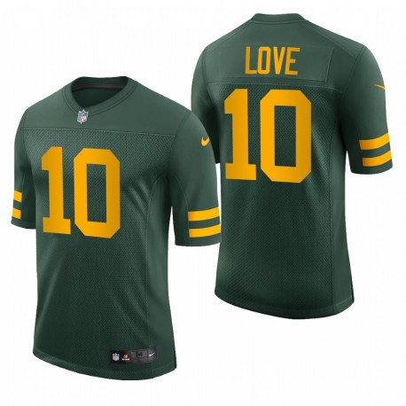 Jordan Love Green Bay Packers Vert Vapeur Limited Maillot Limited Maillot