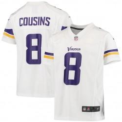Kirk Cousins Minnesota Vikings - Jersey de jeu des Enfants Nike - Blanc