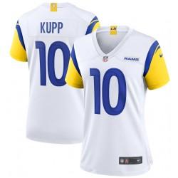 Cooper Kupp Los Angeles Rams Maillot de match alternatif Nike pour femme - Blanc