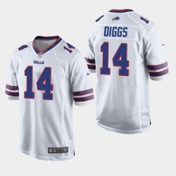 Buffalo Bills Men 14 Stefon Diggs Jersey Jeu - Blanc