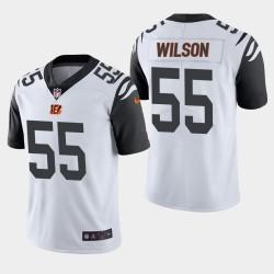 Cincinnati Bengals 55 Logan Wilson NFL Draft Jersey Hommes - Blanc