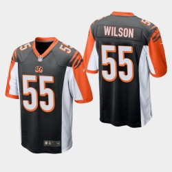 Cincinnati Bengals 55 Logan Wilson NFL Draft Jersey hommes - Noir