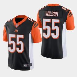 Cincinnati Bengals 55 Logan Wilson NFL Draft Vapor Limited Jersey Homme - Noir