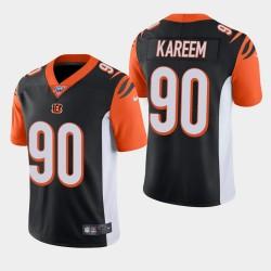 Cincinnati Bengals 90 Khalid Kareem Draft NFL Jersey Hommes - Noir