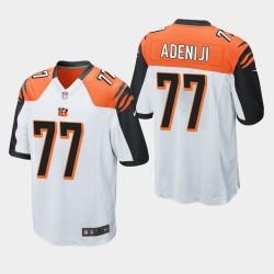 NFL Draft Cincinnati Bengals 77 Hakeem Adeniji jeu Jersey Hommes - Blanc