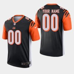 NFL Draft Cincinnati Bengals 00 Personnalisé Légende Jersey Hommes - Noir