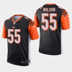 NFL Draft Cincinnati Bengals 55 Logan Wilson Legend Jersey Hommes - Noir