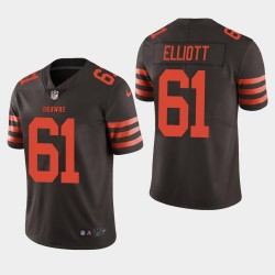 NFL Draft Cleveland Browns 61 Jordan Elliott couleur Rush Limited Jersey Men - Brown