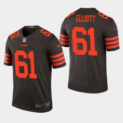 Cleveland Browns 61 Jordan Elliott Jersey NFL Draft Men - Brown