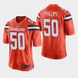 Cleveland Browns 50 Jacob Phillips NFL Draft Autre jeu Jersey Hommes - Orange