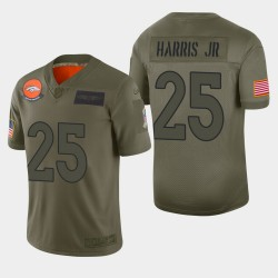 Denver Broncos Chris Harris Jr 2019 Salut à Service Limited Jersey - Camo
