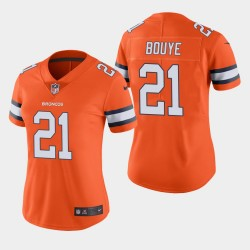 Broncos A.J. BOUYE couleur Rush Limited Jersey - Orange