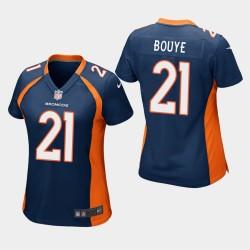 Broncos A.J. BOUYE jeu Jersey - Marine