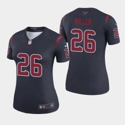Texans Lamar Miller couleur Rush Legend Jersey - Marine