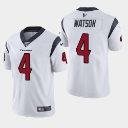 Houston Texans Men 4 Deshaun Watson 100e saison de vapeur Limited Jersey - Blanc
