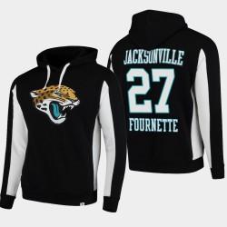 Fanatiques Branded Hommes Jacksonville Jaguars 27 Leonard Fournette équipe Iconic Sweat à capuche - Noir