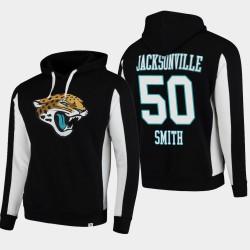 Fanatiques Branded Hommes Jacksonville Jaguars 50 Telvin Smith équipe Iconic Sweat à capuche - Noir