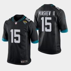 Jaguars Gardner Minshew Jersey Jeu - Noir