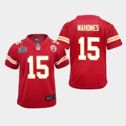 Chefs de la Jeunesse Patrick Mahomes Super Bowl LIV jeu Jersey - Rouge