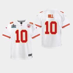 Chefs jeunes Tyreek Hill Super Bowl LIV jeu Jersey - Blanc