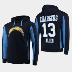 Fanatiques Los Angeles Branded Hommes Chargers 13 Keenan Allen équipe Iconic Sweat à capuche - Marine