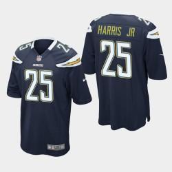 Chargeurs hommes Los Angeles 25 Chris Harris Jr Jeu Jersey - Marine