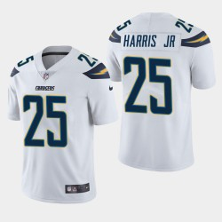 Chargeurs hommes Los Angeles 25 Chris Harris Jr Vapor Intouchable Limited Jersey - Blanc