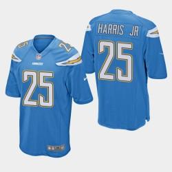 Chargeurs hommes Los Angeles 25 Chris Harris Jr Jeu Jersey - Bleu clair