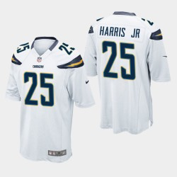 Chargeurs Men Los Angeles 25 Jeu Chris Harris Jr Jersey - Blanc
