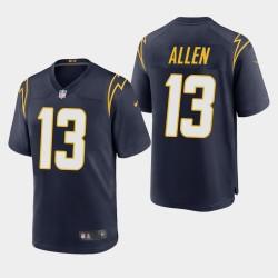 Chargeurs Los Angeles Men 13 Keenan Allen 2020 Jeu Jersey Autre - Marine