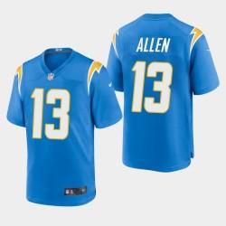 Hommes Los Angeles Chargers 13 Keenan Allen 2020 Jersey Jeu - Powder Blue