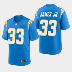 Los Angeles Chargers 33 hommes Derwin James 2020 Jersey Jeu - Powder Blue