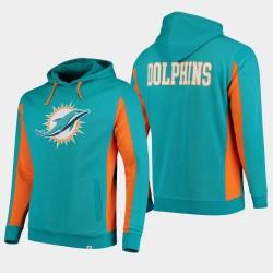 Fanatics Branded Hommes Miami Dolphins équipe Iconic Sweat à capuche - Aqua
