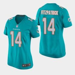 Miami Dolphins 14 femmes Ryan Fitzpatrick jeu Maillot - Aqua