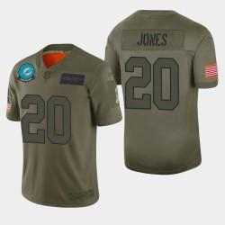 Miami Dolphins Reshad Jones 2019 Salut à Service Limited Jersey - Camo