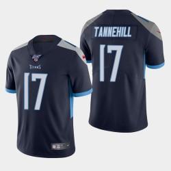 Titans hommes Tennessee 17 Ryan Tannehill 100ème saison de vapeur Limited Jersey - Marine