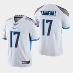Titans hommes Tennessee 17 Ryan Tannehill 100ème saison de vapeur Limited Jersey - Blanc