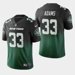 Jets de New York Jamal Adams couleur crash dégradé maillot vert