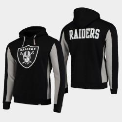 Fanatics Branded Hommes Las Vegas Raiders équipe Iconic Sweat à capuche - Noir