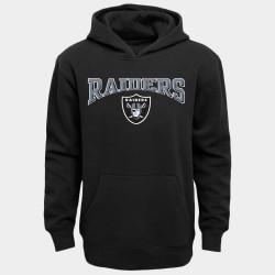 Las Vegas jeunes Raiders Noir Outerstuff à capuche en laine - Noir