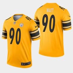 Pittsburgh Steelers T.J. Watt Inverted Legend Jersey - Or