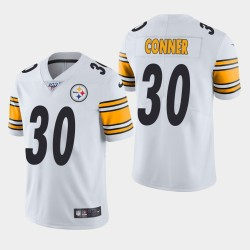 James Conner Steelers 100ème saison de vapeur Limited Jersey - Blanc