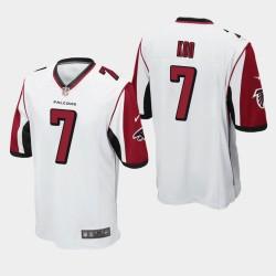 Atlanta Falcons Men 7 Younghoe Koo Jersey Jeu - Blanc