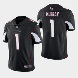 Arizona Cardinals hommes 1 Kyler Murray 2019 NFL Draft vapeur Limited Jersey - Noir