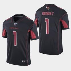 Cardinals de l'Arizona Hommes 1 Kyler Murray 100ème Couleur Saison Rush Jersey - Noir