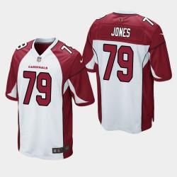 NFL Draft Arizona Cardinals 79 Josh Jones jeu Jersey Hommes - Blanc